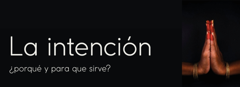 intencion